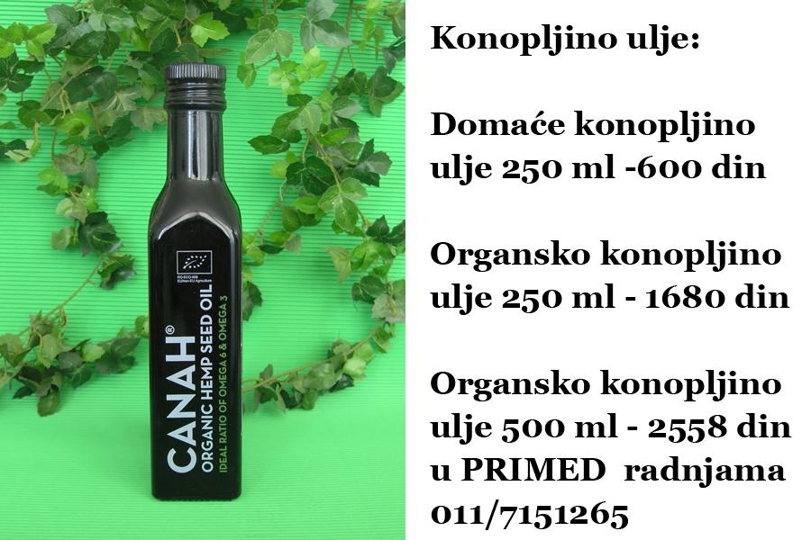 konopljino ulje