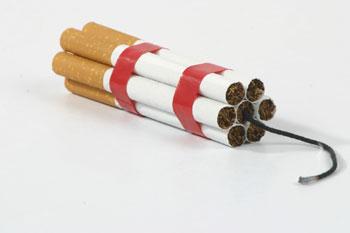 Kancer pluća, pušenje